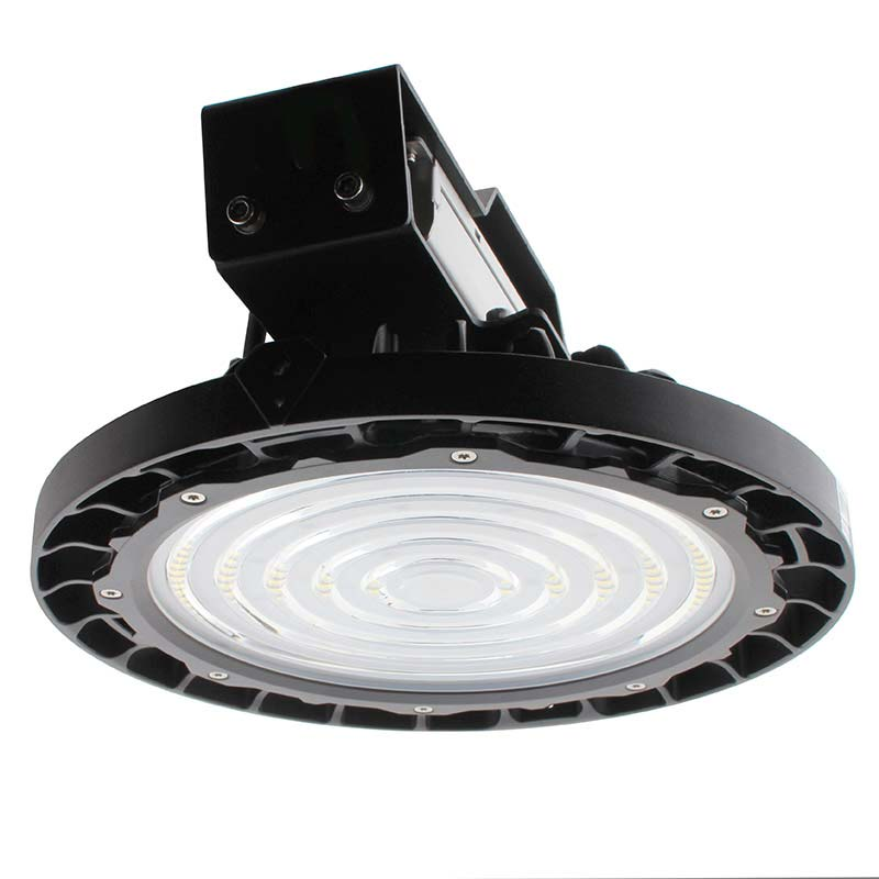 Campana Led industrial UFO 150W NICHIA + MeanWell driver DALI regulable, Blanco frío, Regulable